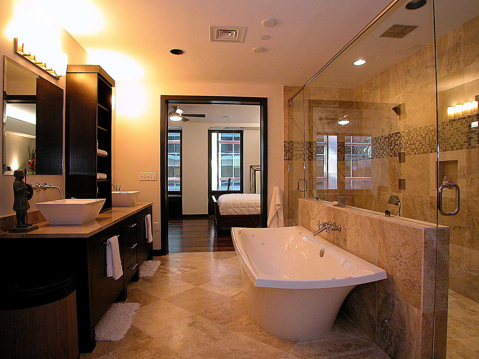 The trust condos the trust condominiums charlotte - Master bathroom ...