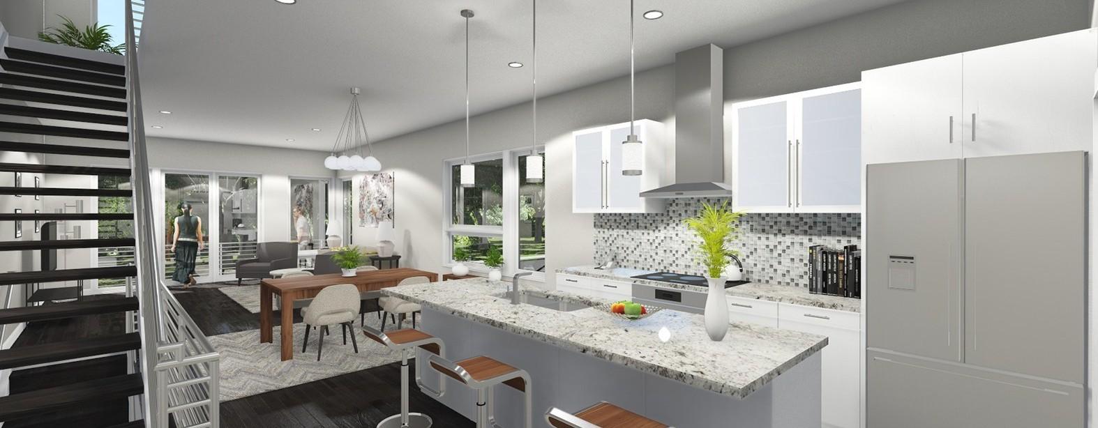 Luxity Terraces Kitchen