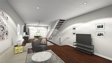 Luxity Terraces Living Area